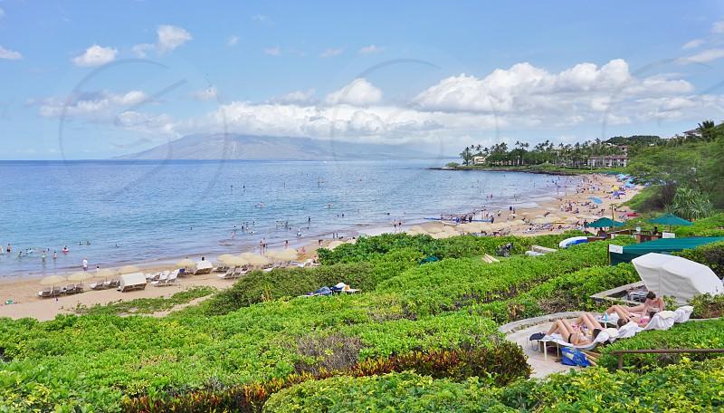 Wailea Beach in Maui County Hawaii photo