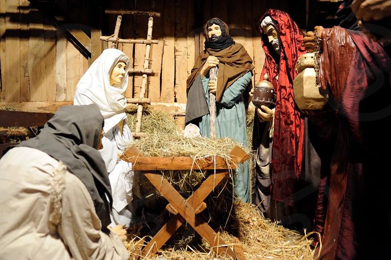 nativity action figure photo