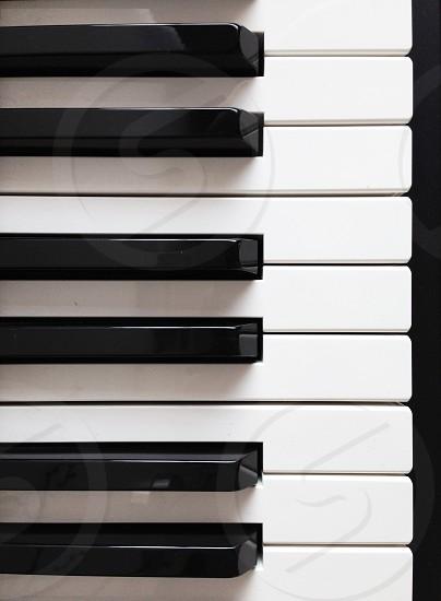 piano keys photo