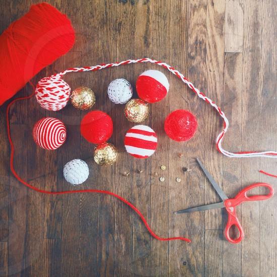 Handmade Christmas. photo
