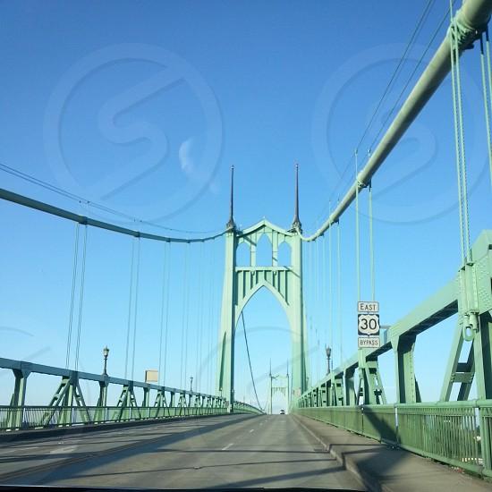 the St. John's bridge photo