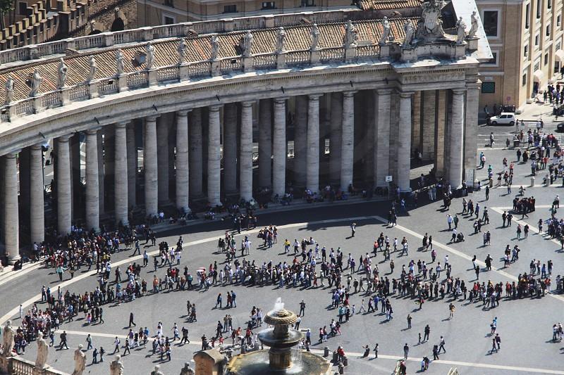 vatican square photo