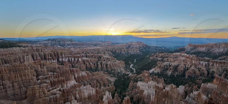 Sunrise over Bryce Canyon photo