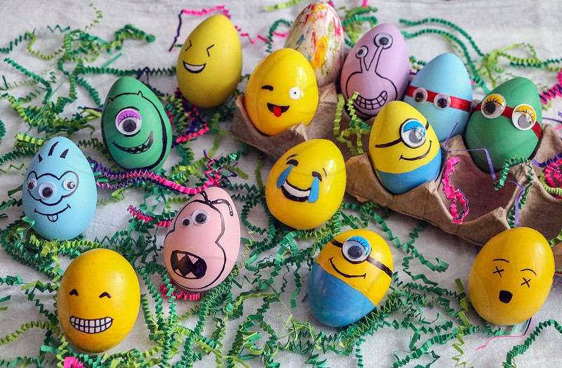 Happy Easter...funny facesminionsmonstersemojininja  photo