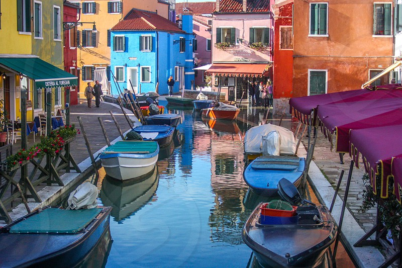 Burano Venice.  photo