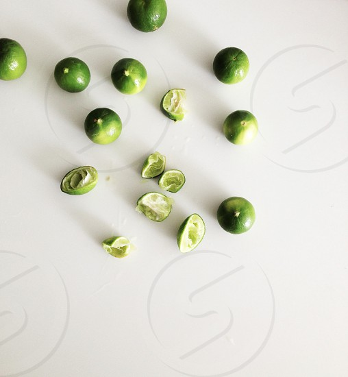 green citrus fruits photo