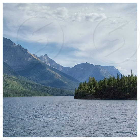 Waterton Lake Located in Southern Alberta photo