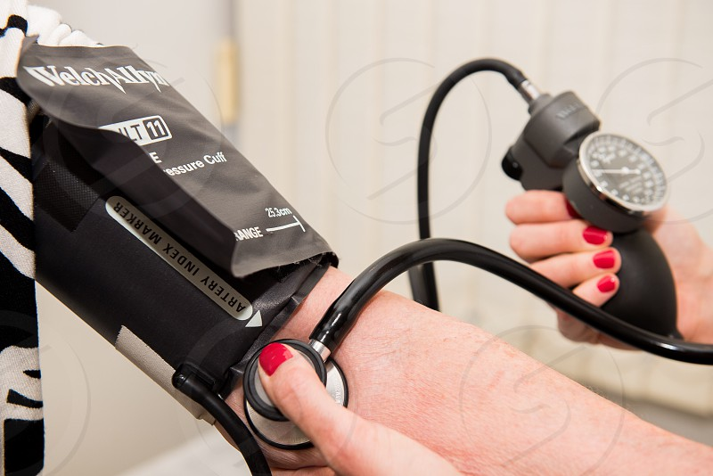 Checking pressure  photo