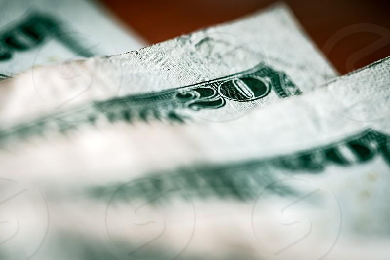 $20 bills photo