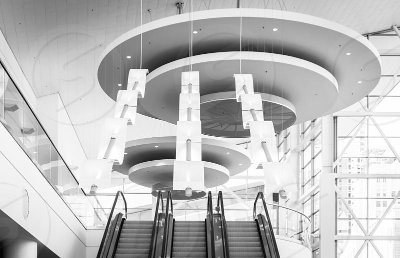 The inside of the Denver convention center photo