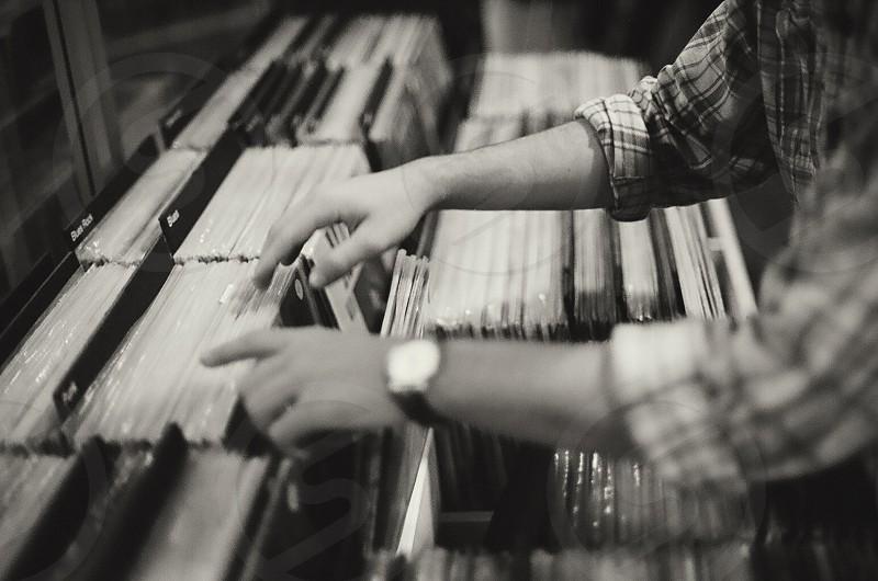 compact discs photo
