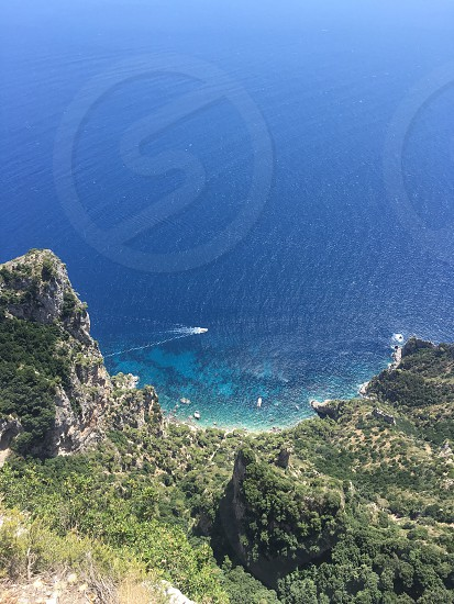 Mt. Solaro Island of Capri photo