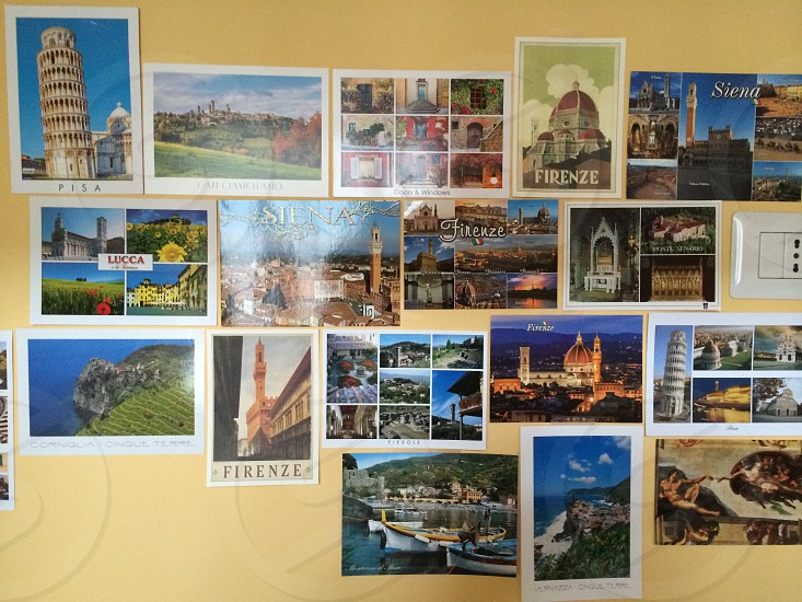 Postcard collection photo