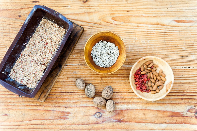Nuts and seeds photo