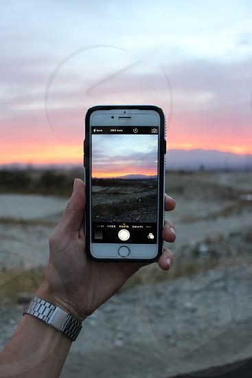 POV; iPhone 6; sunset; canon rebel t5i photo