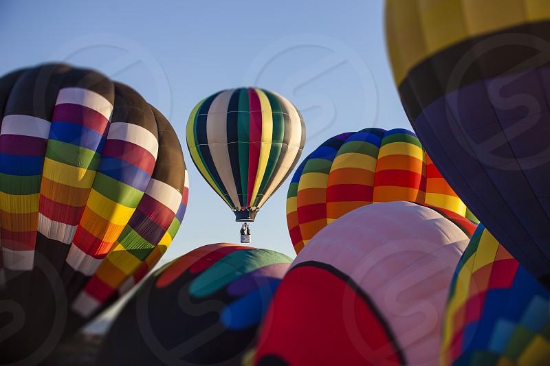 Balloon hot air balloon color  photo