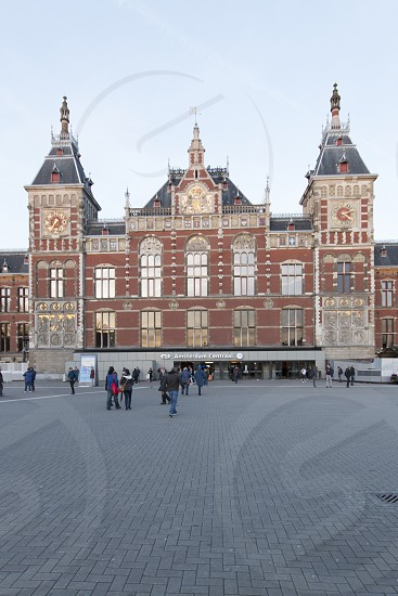 Amsterdam Centraal station - Amsterdam photo