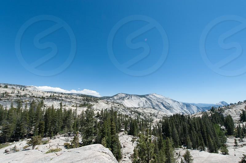 Olmsted Point Mariposa County Yosemite California USA. photo