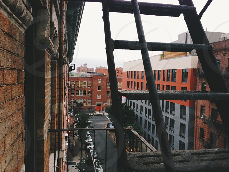 Off a NYC fire escape. photo