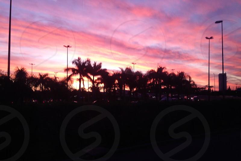 Sunset Florianópolis Brasil photo