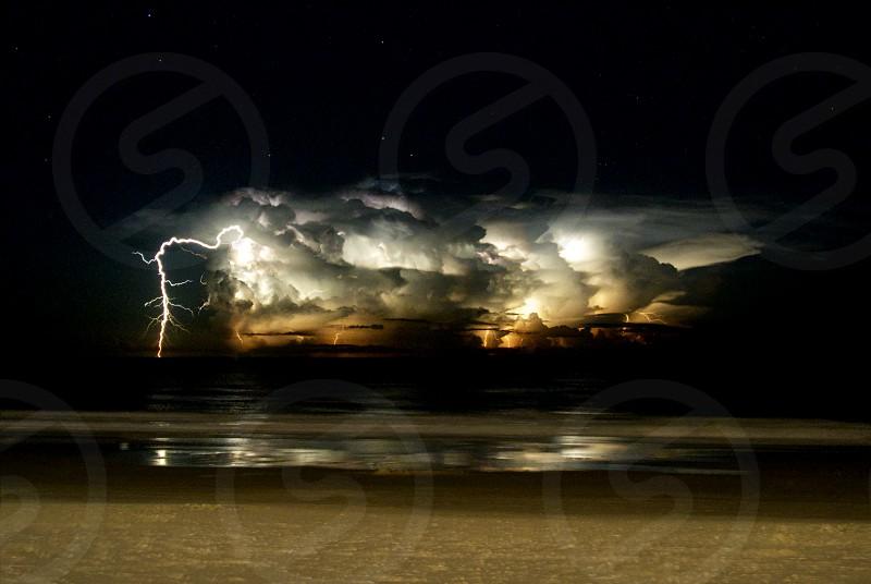 Daytona Beach Thunderstorm photo