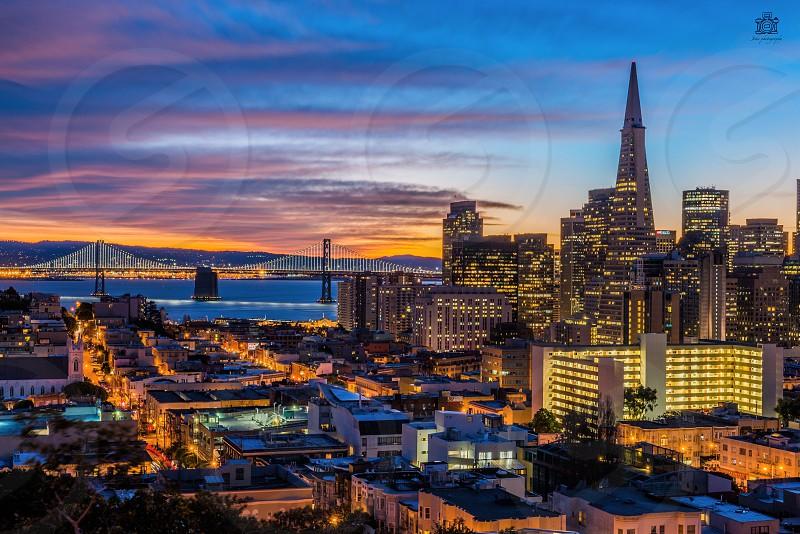 Sunrise in San Francisco photo