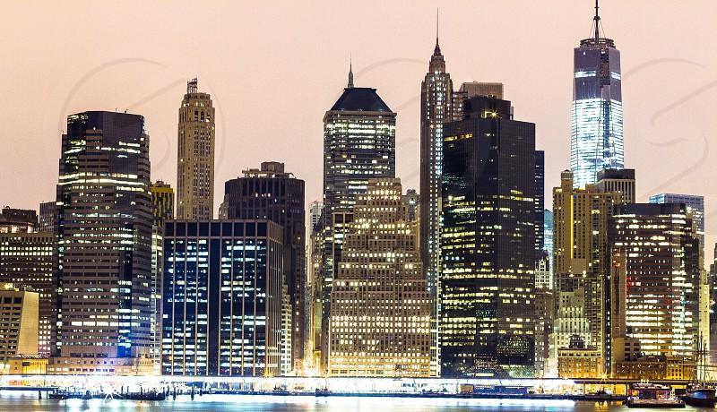 New York skyline architecture  photo