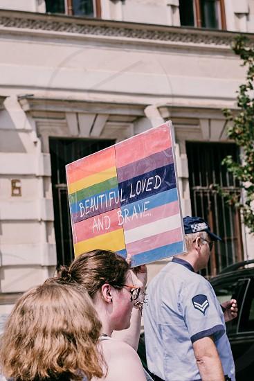 Shots from Rainbow gathering. Gay Pride. photo