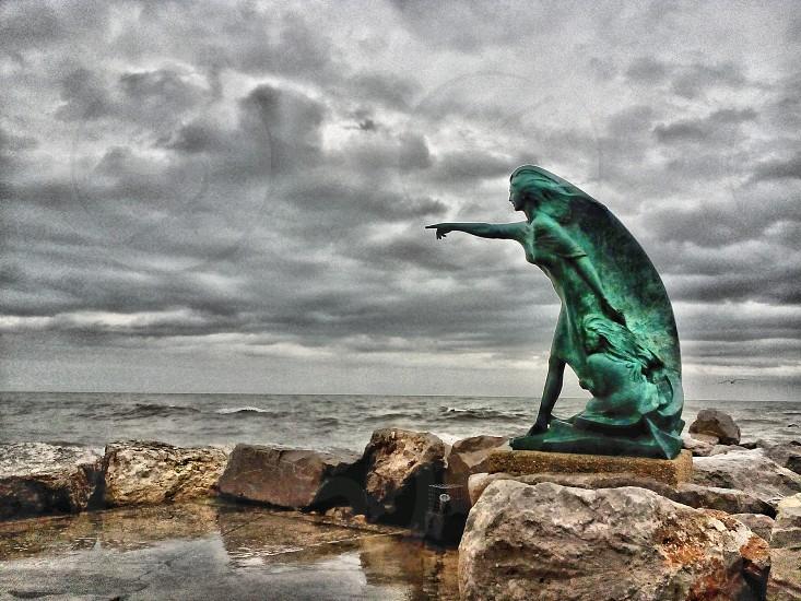 Moglie di un pescatore photo