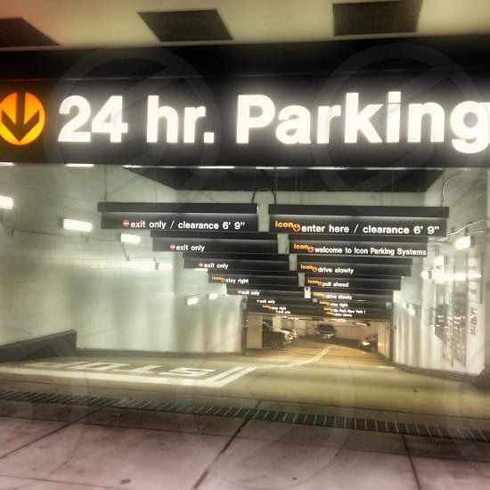 24 hr parking area photo