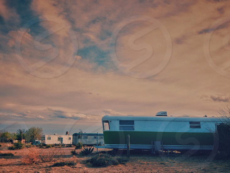 Staying in an RV in Marfa TX. photo
