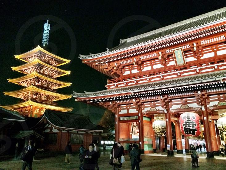 Sensoji in Japan photo