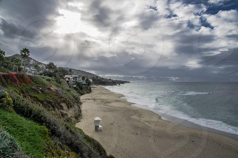 Beach scene photo