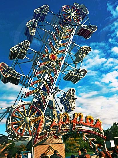 The Zipper - a classic carnival ride photo