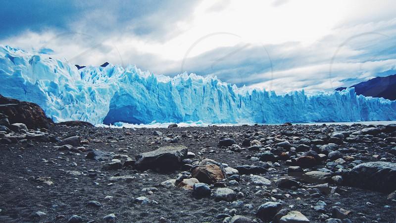 Glacier Perrito Moreno Patagonia Argentina   photo