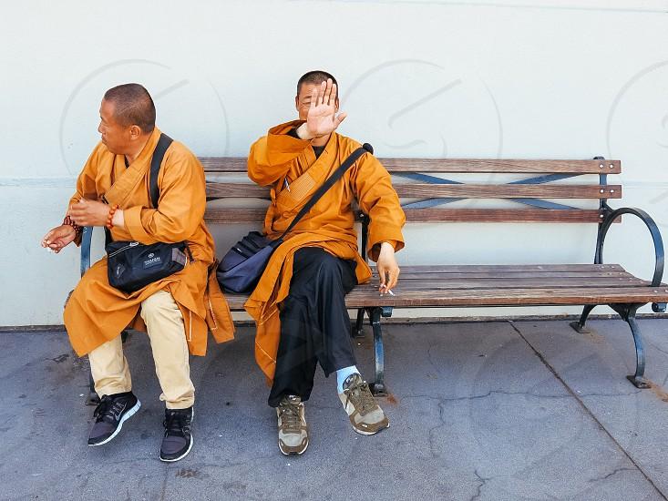 no sight modern monks  photo