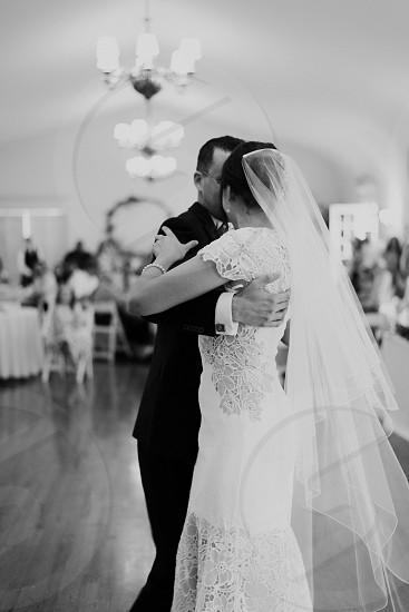 First wedding dance photo