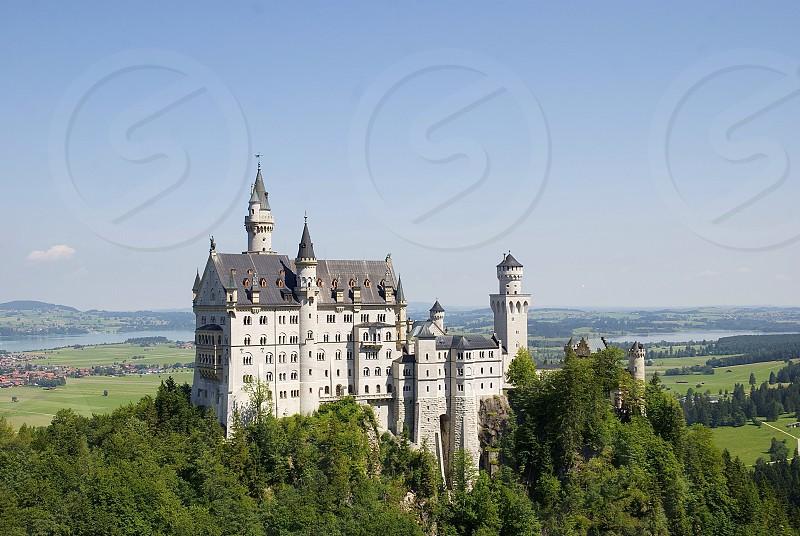Neuschwanstein Castle in Germany  photo