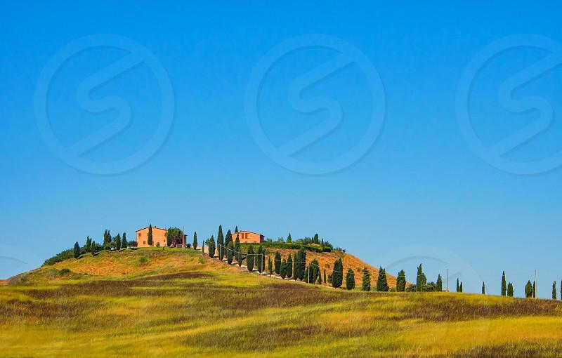 Tuscany lanscape minimalism photo