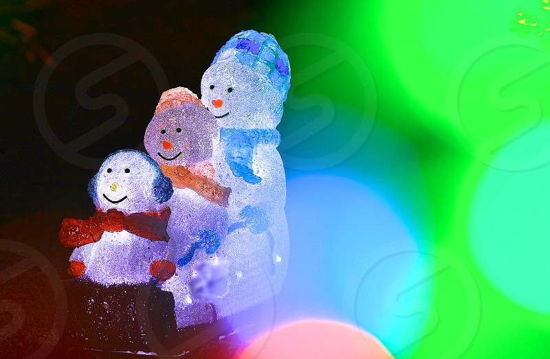 things you associate with the festive holidays (2):Snowman Brothers photo