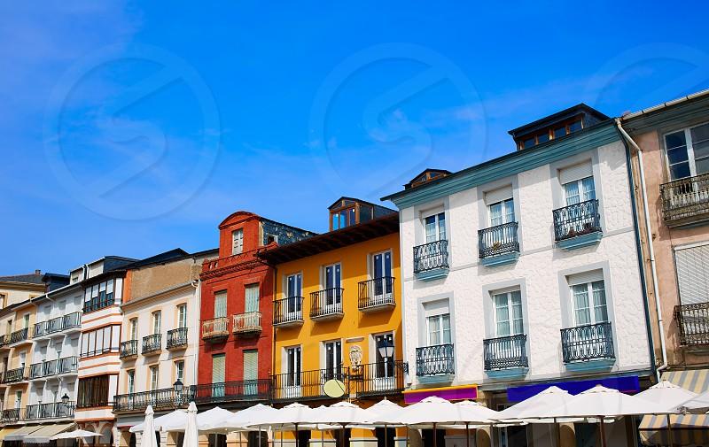 Villafranca del Bierzo by Way of Saint James Plaza Mayor in Leon Spain photo