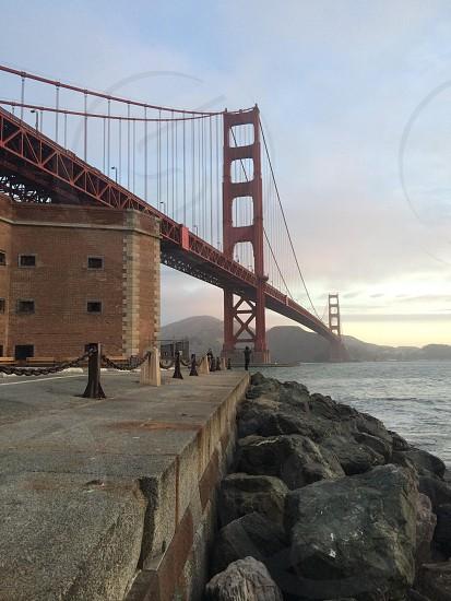 view of san francisco bridge photo