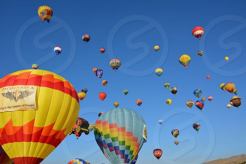 Balloon race photo