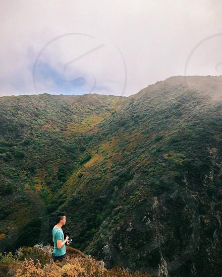 mountain tops photo
