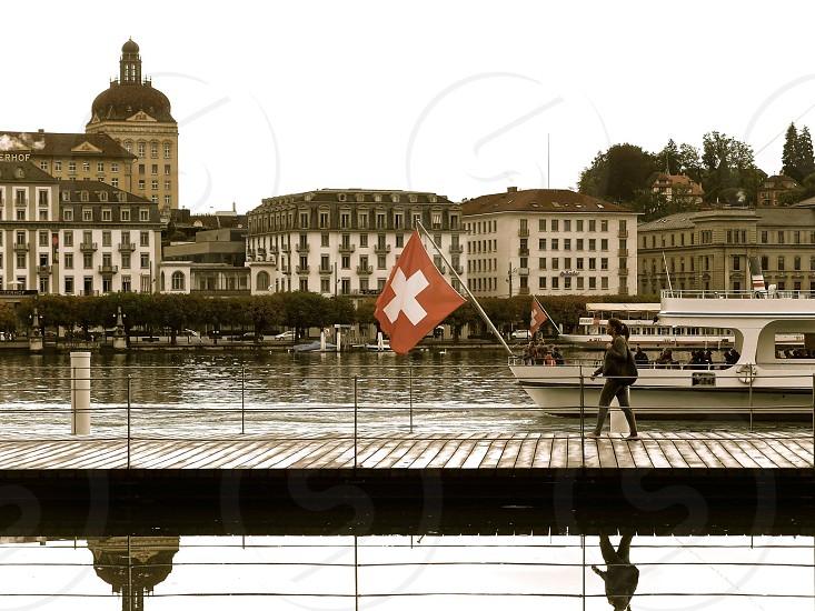 Switzerland Swiss flag photo
