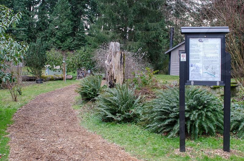 Leach Botanical Garden Portland Oregon photo