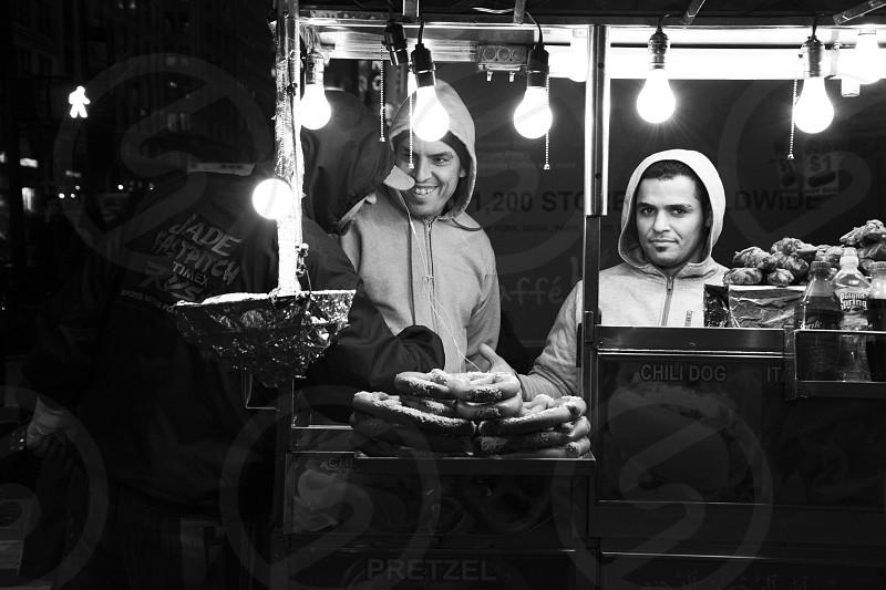 Hot dog truck - NYC photo