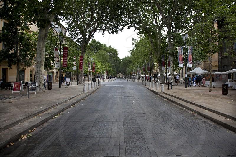 European street scene photo