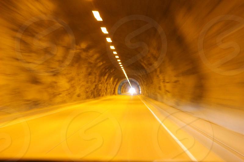 tunnel speed motion photo