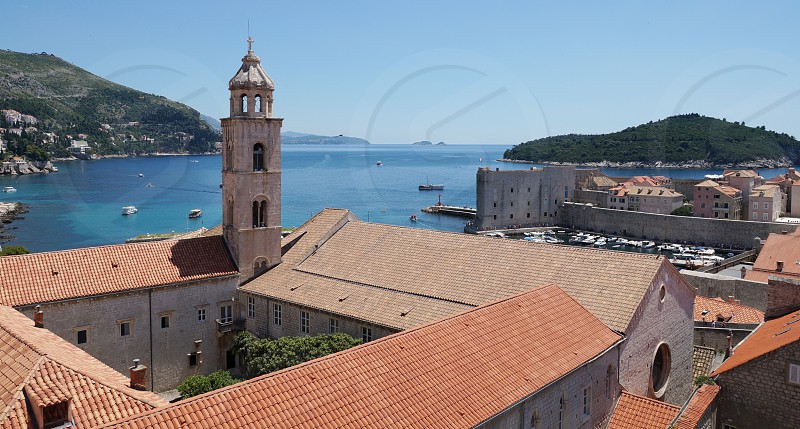 Dominican Monastery in Dubrovnik Croatia photo